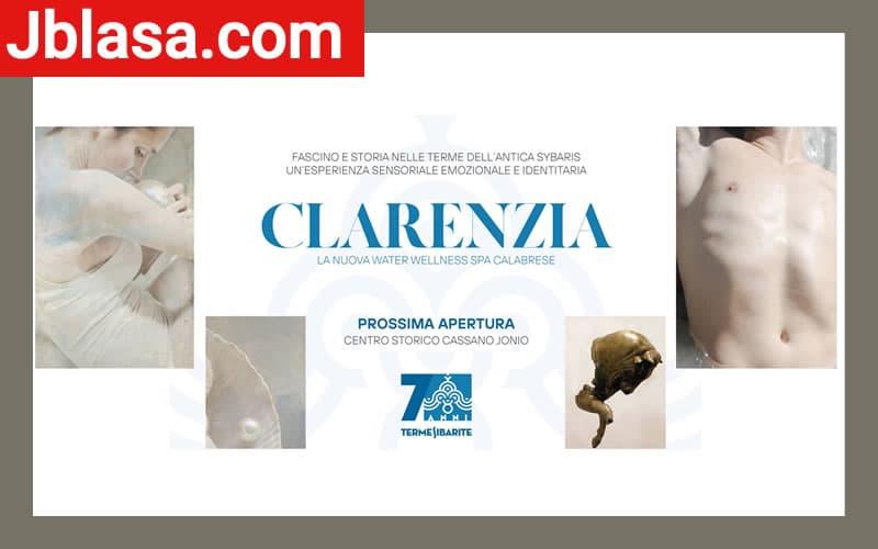 Clarenzia Water Wellness & Beauty prossima apertura a Cassano allo Ionio