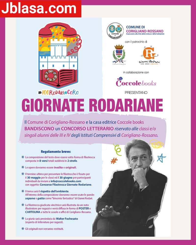Concorso Giornate Rodariane - una filastrocca per celebrare i 100 anni di Rodari