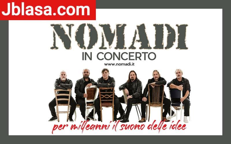 Nomadi in Concerto 2020 Milleanni Tour