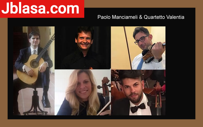 Paolo Manciameli & Quartetto Valentia a Caulonia 14 Novembre 2020