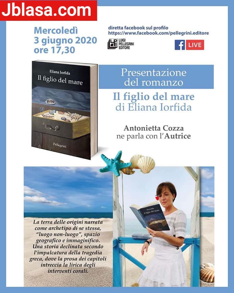 Presentazione in Diretta del Romanzo Il figlio del Mare 3 giugno 2020 locandina