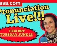 Pronunciation Live BBC Learning English 23 june 2020 locandina