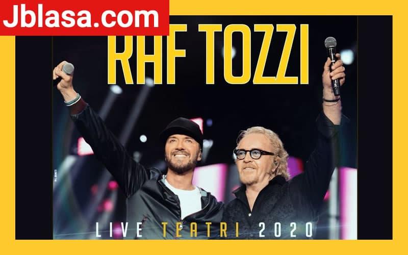 Raf e Tozzi live teatri 2020
