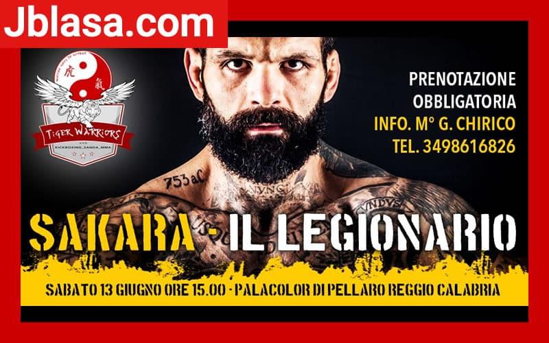Sakara Il Legionario - corso di mma kickboxing sanda bjj 13 Giugno 2020