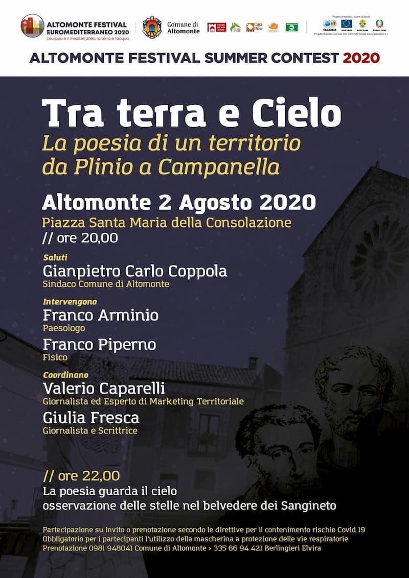 Summer Contest Festival Euromediterraneo Altomonte 2020