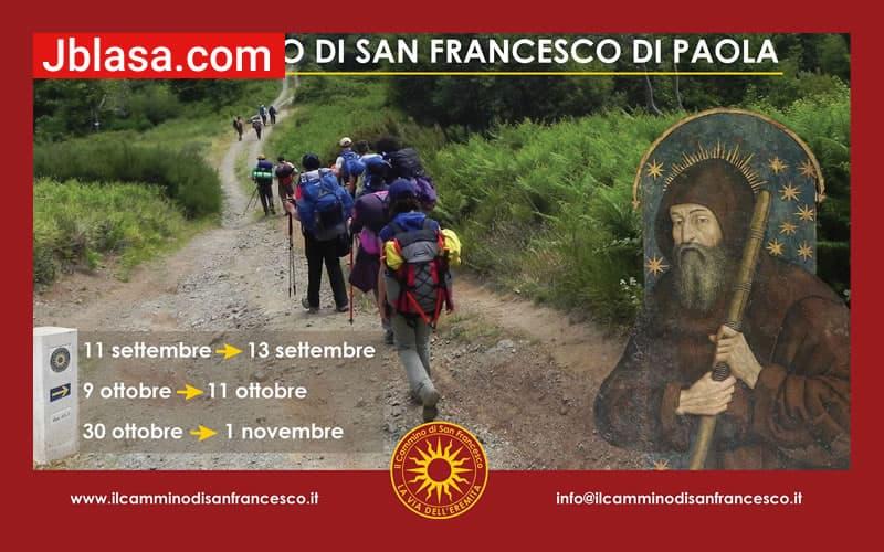 Il Cammino di San Francesco di Paola 11-12-13 Settembre 2020
