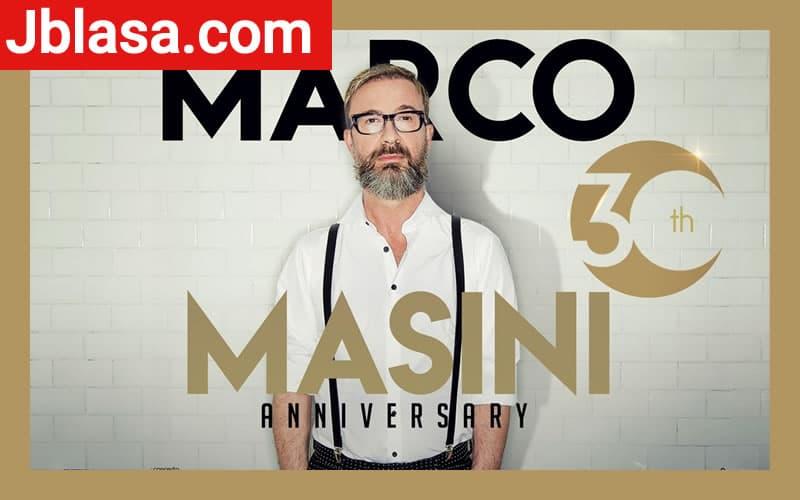 Marco Masini in 30th anniversary