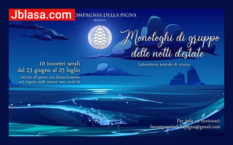 Monologhi di gruppo delle notti d'estate a Cosenza