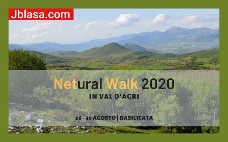 Netural Walk 2020 in Val d' Agri
