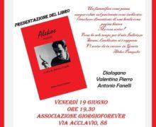 Presentazione del libro Alekos 19 giugno 2020 a Taranto locandina