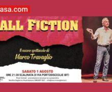 Ball Fiction lo spettacolo di Marco Travaglio a Bisceglie 1 Agosto 2020