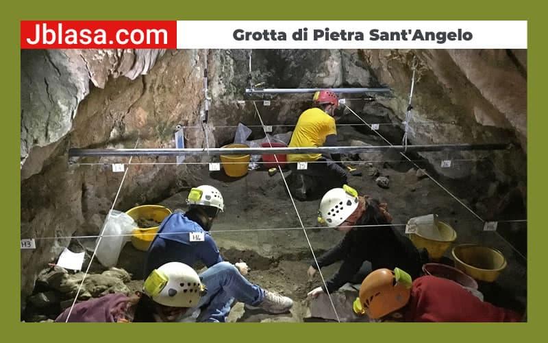 Ingredibile scoperta nella Grotta di Pietra Sant'Angelo sito archeologico di San Lorenzo Bellizzi