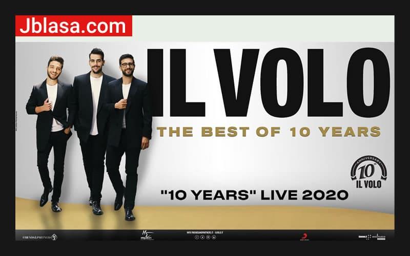Il Volo 10 years 2020