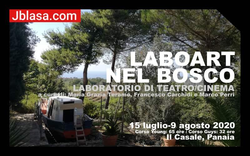 LaboArt nel Bosco - laboratorio di teatro - cinema dal 15 luglio al 9 agosto - Il casale Panaia