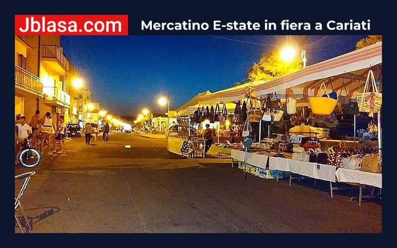 Mercatino E-state in fiera a Cariati