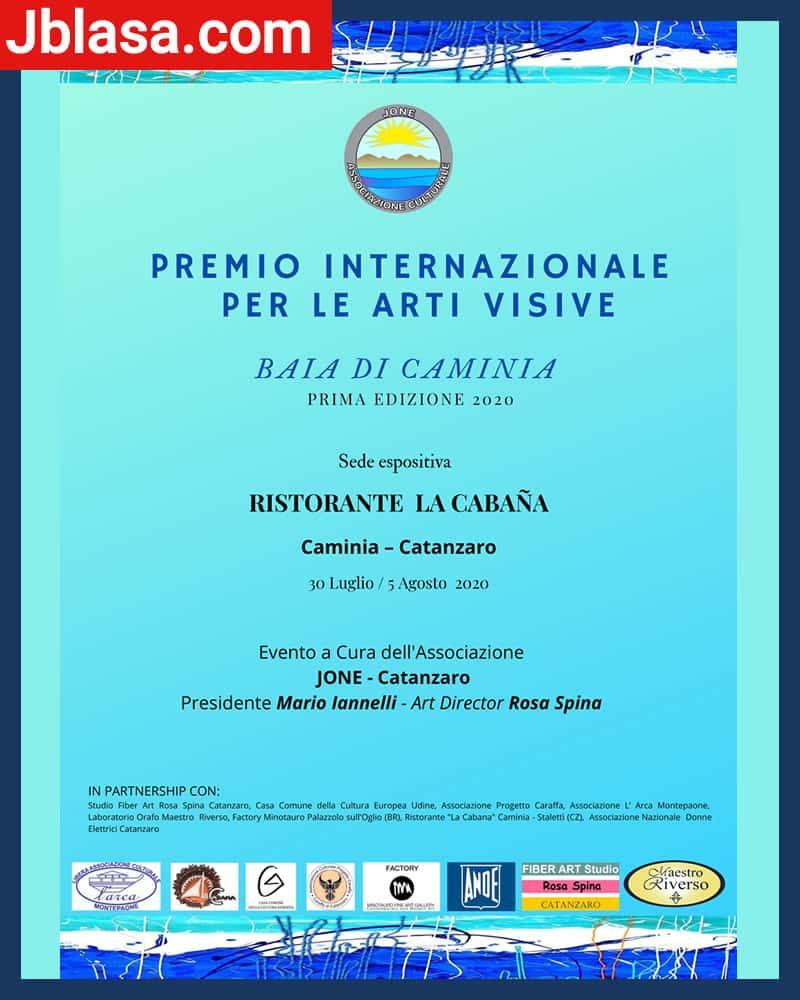 Premio Internazionale di Arti Visive Baia di Caminia 2020 Catanzaro