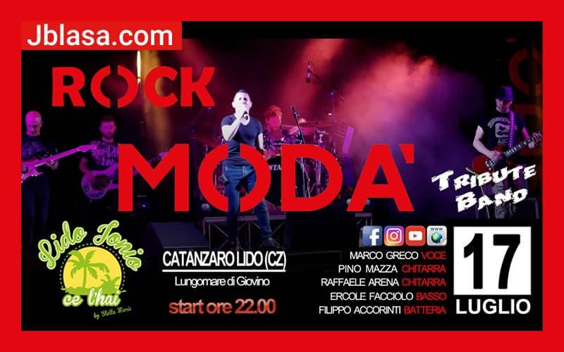 Rock Modà Tribute Band Live @Catanzaro Lido-Lido Jonio 17 luglio 2020