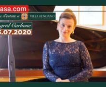 Sere d'estate a Villa Rendano - Ingrid Carbone Conversazione - Concerto 23 luglio 2020 Cosenza