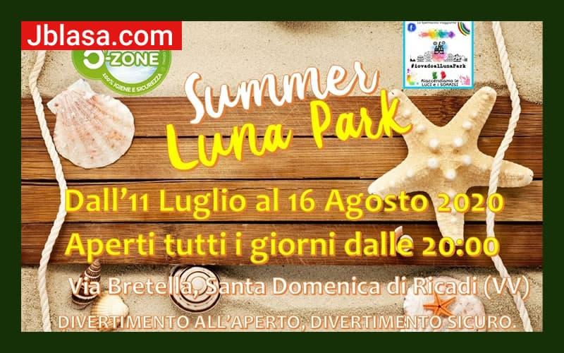 Summer Luna Park - Santa Domenica di Ricadi dal 11 Luglio al 16 Agosto 2020