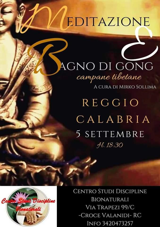 Bagno Di Gong 5 Settembre 2020 a Reggio Calabria