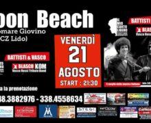 Battisti & Vasco Lido Moon Beach Catanzaro Lido 21 agosto 2020