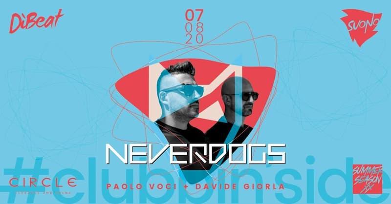 Circle Clubbin'side Neverdogs 7 agosto 2020 a Soverato