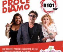 Domenica 09 Agosto dalle 9 alle 12 con R101 - Fernando Prove, Sabrina e Regina Tropea