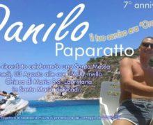 Memorial Danilo Paparatto 3 agosto 2020 a Ricadi