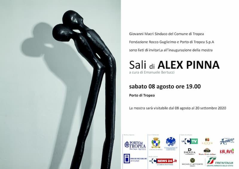 Mostra SALI di Alex Pinna al Porto di Tropea dall'8 agosto al 20 settembre 2020