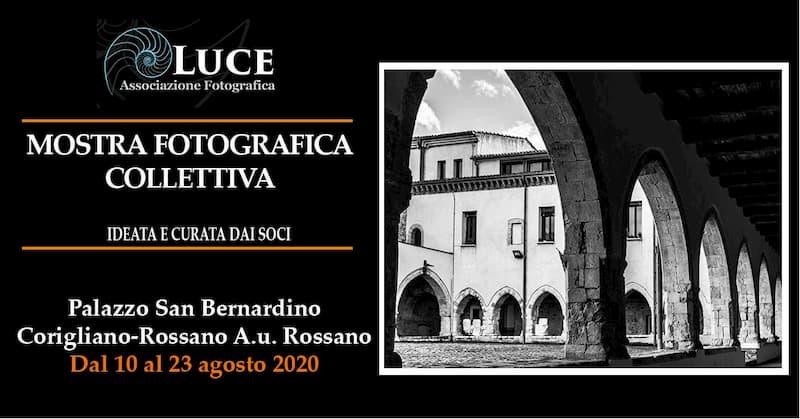 Mostra fotografica collettiva dal 10 al 23 agosto 2020 a Corigliano Rossano