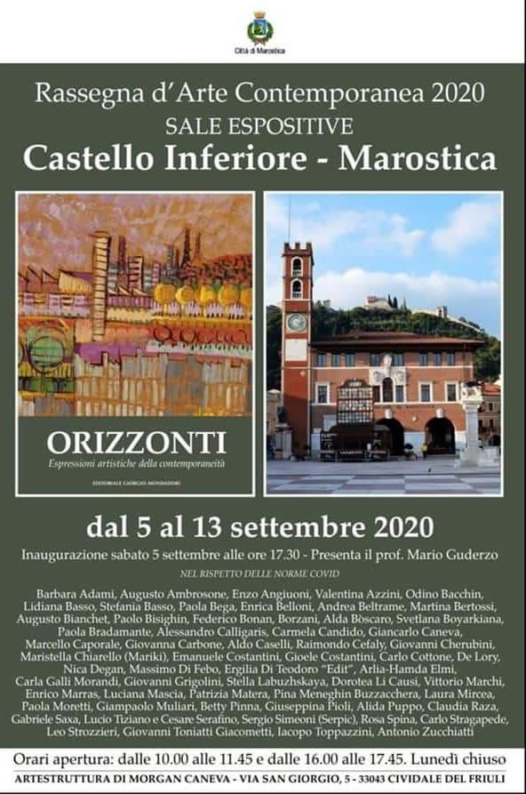 Associazione JONE di Catanzaro alla Rassegna d'Arte Contemporanea di Marostica dal 5 al 13 settembre 2020