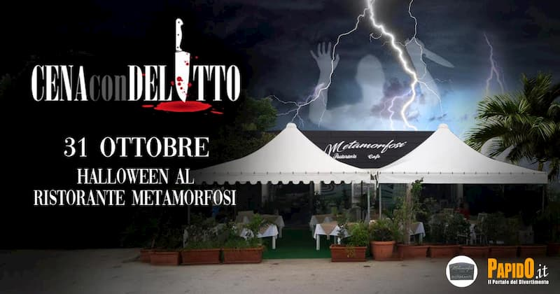 Cena con delitto - Halloween 2020 31 ottobre 2020 a Santa Domenica di Ricadi
