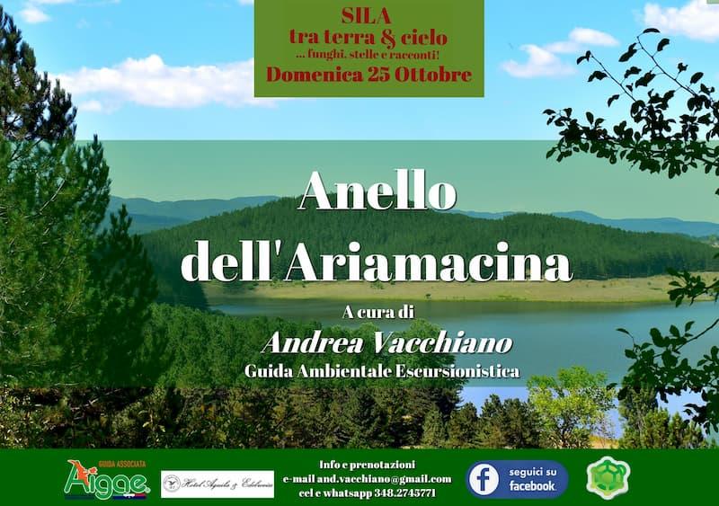 In Sila - Anello dell'Ariamacina 25 ottobre 2020