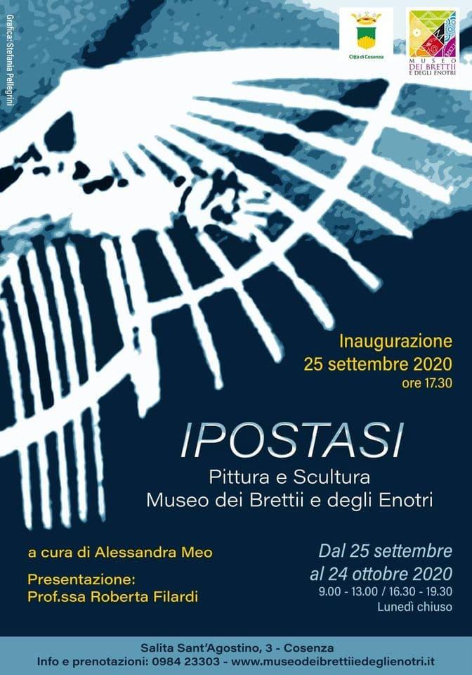 Inaugurazione Mostra Ipostasi 25 settembre 2020 a Cosenza