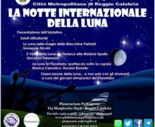 Planetarium Pythagoras La Notte internazionale della Luna 26 settembre 2020 Reggio Calabria locandina