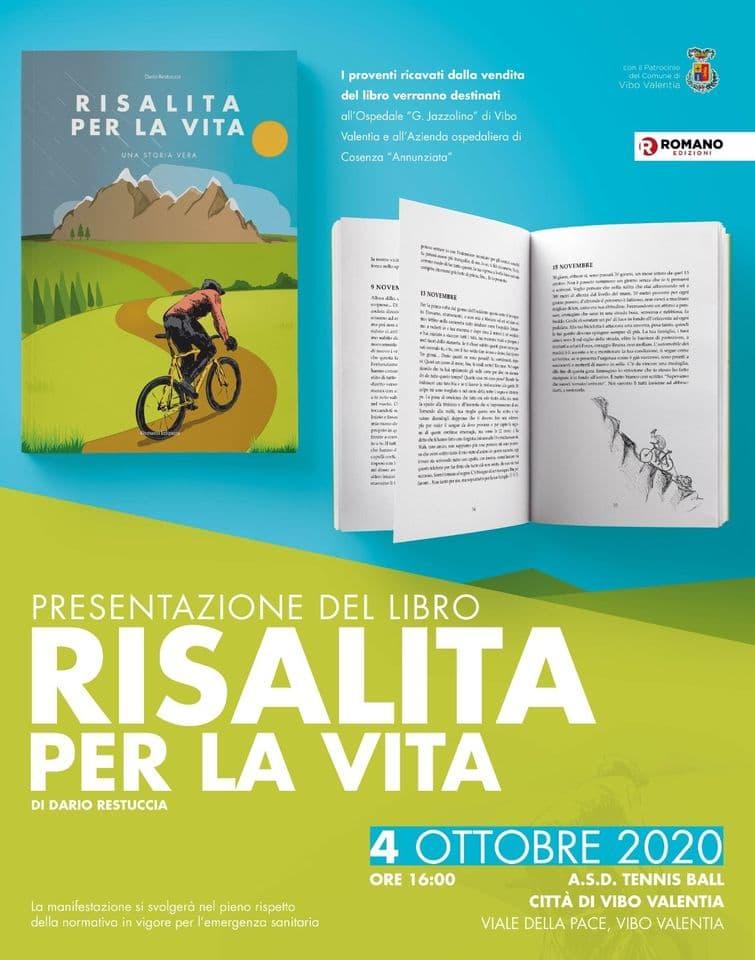 Presentazione del libro Risalita per la Vita. Una storia vera 4 ottobre 2020 Vibo Valentia