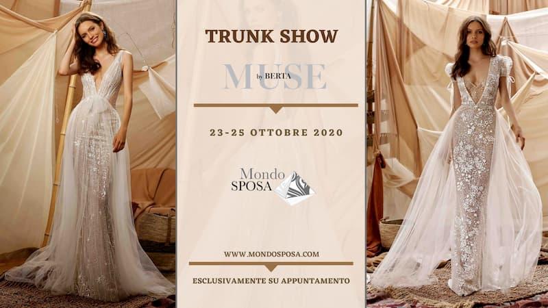 TRUNK SHOW MUSE BY BERTA 23-24-25 ottobre 2020 a Vibo Valentia