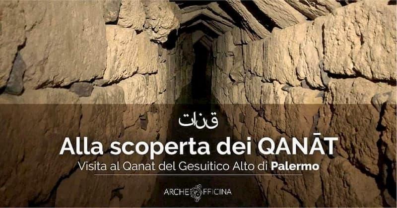 Alla scoperta dei Qanat Visita guidata al Gesuitico Alto