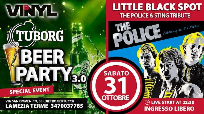 Beer Fest The Police Tribute Band Live@Vinyl 31 Ottobre 2020 Lamezia Terme