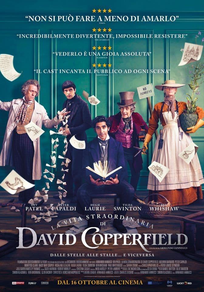 Cinema La vita straordinaria di David Copperfield