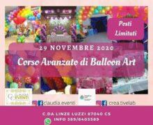Corso Balloon Art avanzato 29 novembre 2020 Luzzi
