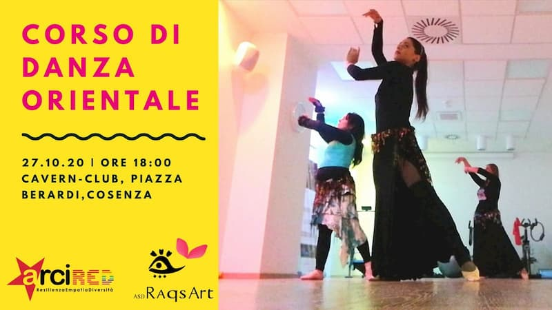 Corso danza orientale 27 ottobre 2020 Cosenza