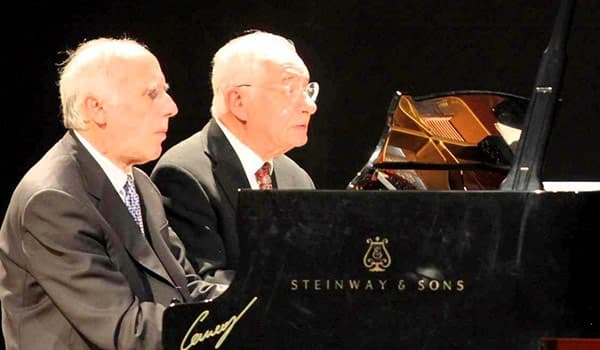 Duo pianistico Bruno Canino & Antonio Ballista
