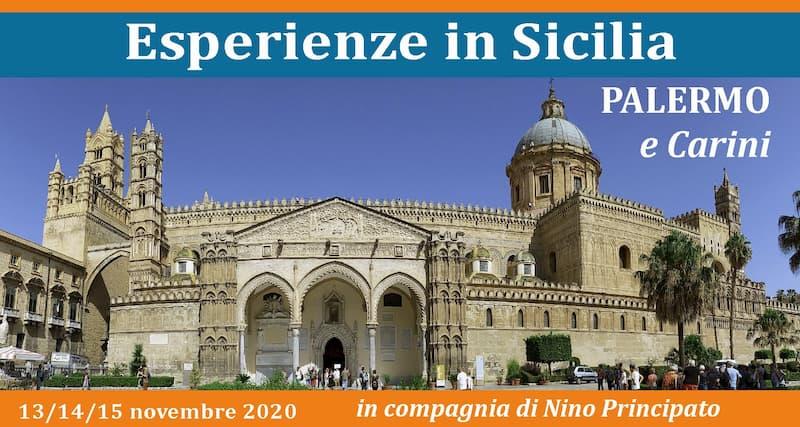 Esperienze in Sicilia Palermo e Carini 13 14 15 novembre 2020