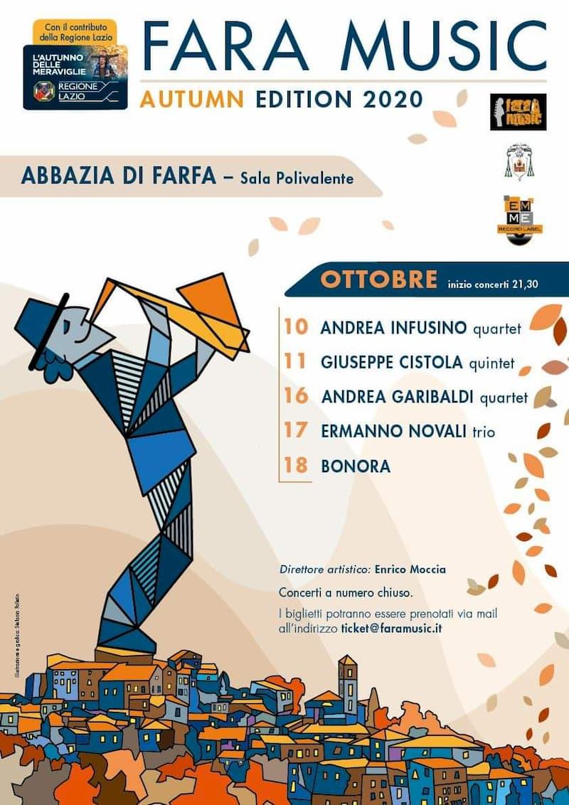 Fara Music Festival 2020 locandina