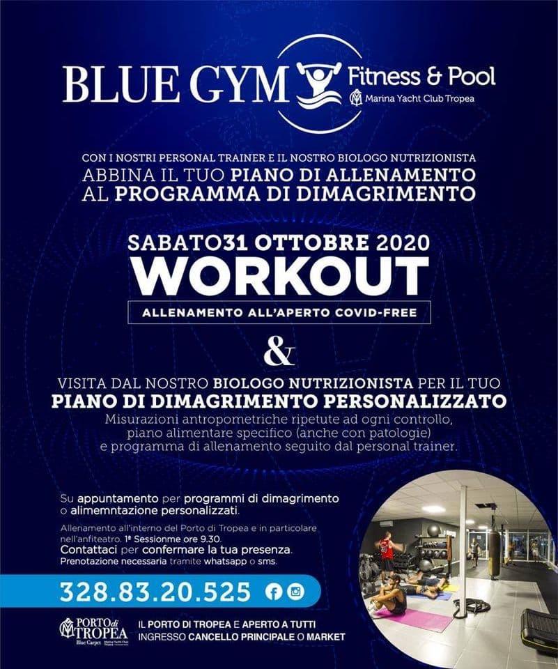 Fitness Day 31 ottobre 2020 Tropea locandina