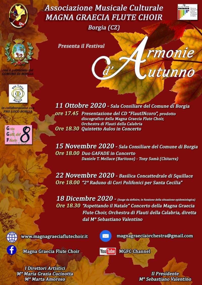 LOCANDINA ARMONIE D'AUTUNNO definitiva dall'11 ottobre al 18 dicembre 2020