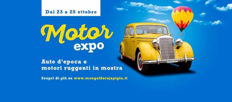 Motor Expo 23 24 25 ottobre 2020 a Bari