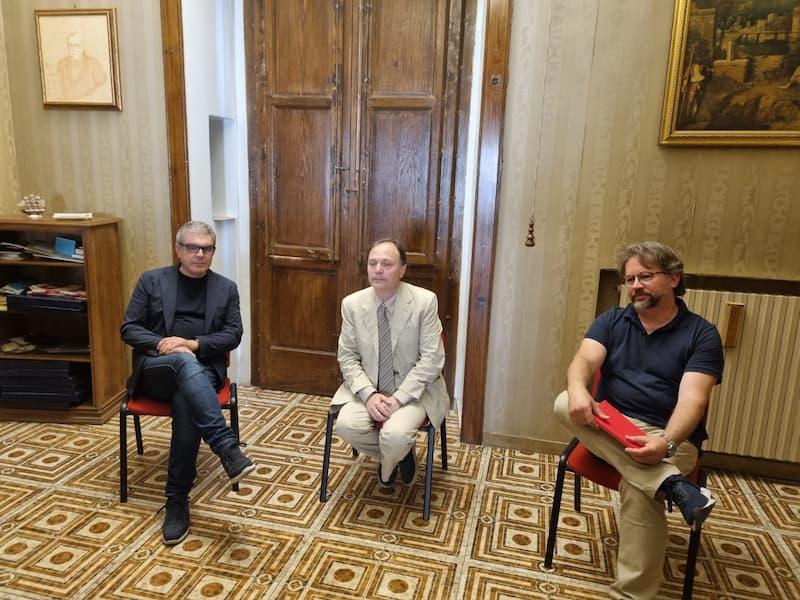 Ruggero Pegna, Francescantonio Pollice, Sergio Gimigliano