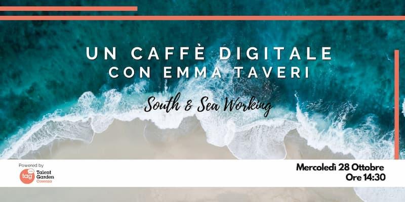 Un caffè digitale con Emma Taveri 28 ottobre 2020 Cosenza
